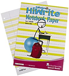 Abilitations Integrations Hi-Write Wide-Ruled Notebook Paper