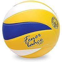 Fenerbahçe 1FBTPDV606 Voleybol Topu N5, Unisex, Sarı/Lacivert, N5