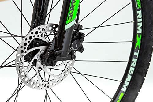 Moma Bikes Mtb29 Peak M Bicicleta de Montaña, Frenos de Disco hidraulicos, 27V, Unisex Adulto, Verde: Amazon.es: Hogar
