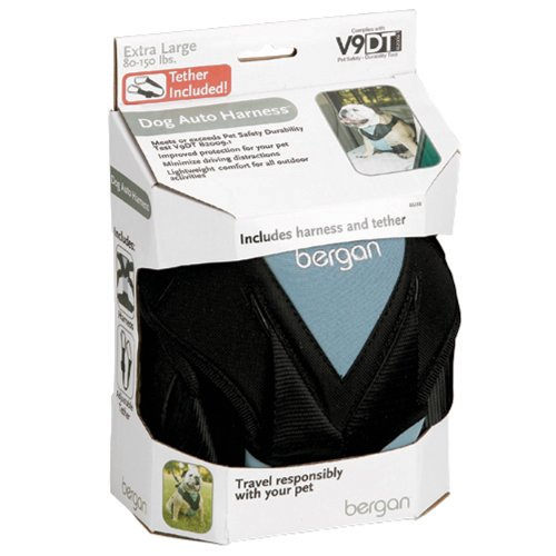 Bergan Dog Auto Harness with Tether, Extra Large