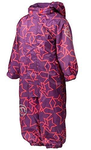 Minymo Abrigo para la nieve - Estrellas - para niña Purple majes 12 meses: Amazon.es: Ropa y accesorios