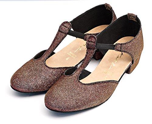 Tamaño Blanco Cerco Rosado Reino Katz Dancewear Por Unido Rojo Jive Negro Salsa Dorado 2 Shoes O Griega Enseñanza Señoras Multi Sandalia Glitter zw6q5