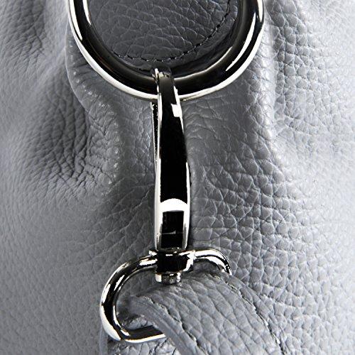 main BAG Beaubourg en Sac femme Gris Clair à MY Modèle cuir OH x5Izqz