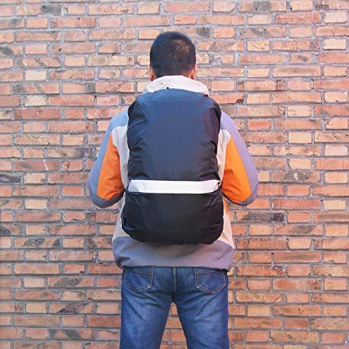 65-80L #1 Gespout 1PCS Funda Impermeable Multifuncional de la Mochila de La Actividad al Aire Libre de la Cubierta de Polvo de la Tela de Oxford Size XL