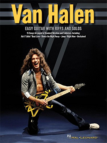 Hal Leonard Van Halen - Easy Guitar With Riffs And Solos (With Tab) (Best Van Halen Guitar Solo)