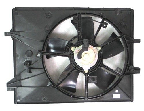 (Go-Parts » OE Replacement for 2006-2015 Mazda MX-5 Miata Engine/Radiator Cooling Fan Assembly LFG1-15-025F MA3115146)