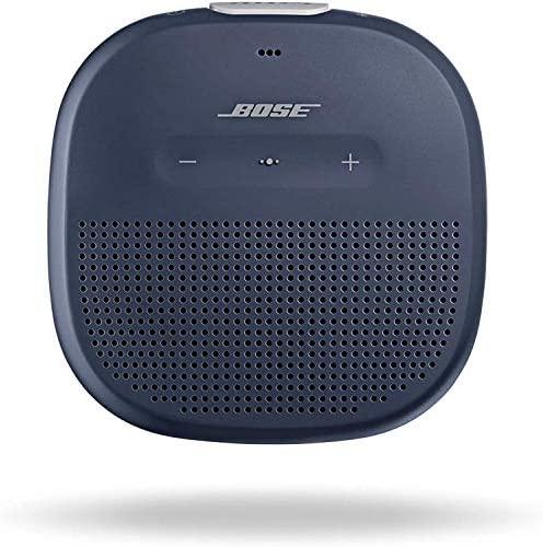 Bose SoundLink Micro: Small Transportable Bluetooth Speaker (Waterproof), Midnight Blue