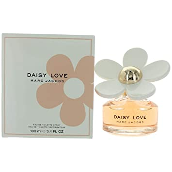 247cd8dbe504 Amazon.com : MARC JACOBS Daisy Love Eau de Toilette Spray, 3.4 Fl Oz. :  Beauty
