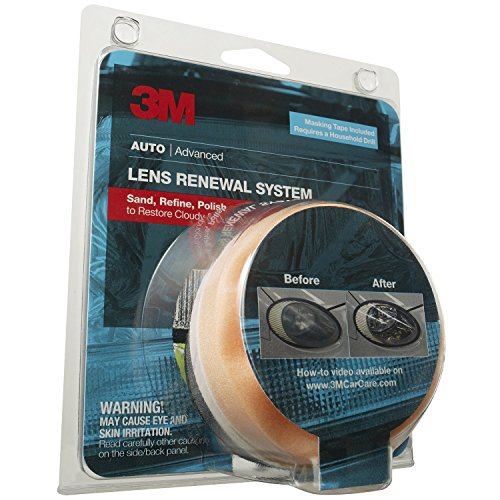 3M 39014 Lens Renewal Kit - Scratches Lenses From Remove Plastic
