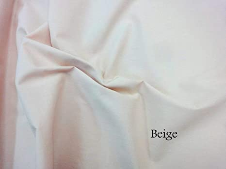 Ivory 100/% Craft Cotton Solid Fabric Plain Material