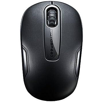 ECHTPower® Nuevo Mejor USB ratón inalámbrico de 2,4 GHz 3 botones ratón 1200dpi con nano receptor para PC portátil de escritorio ordenador portatil negro ...