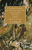 A Theological Introduction to the Thirty-Nine Articles of the Church of England, E. J. Bicknell, 155635682X