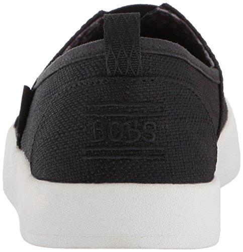 Skechers Bobs B-loved Dames Slip Op Alpargata Sneakers Zwart