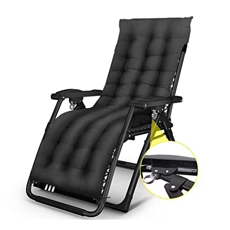 Terrific Deckchair Zero Gravity Chair Patio With Cushions Reclining Ncnpc Chair Design For Home Ncnpcorg