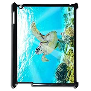 LZHCASE Diy Cover Custom Case Tortoise For IPad 2,3,4 [Pattern-1]