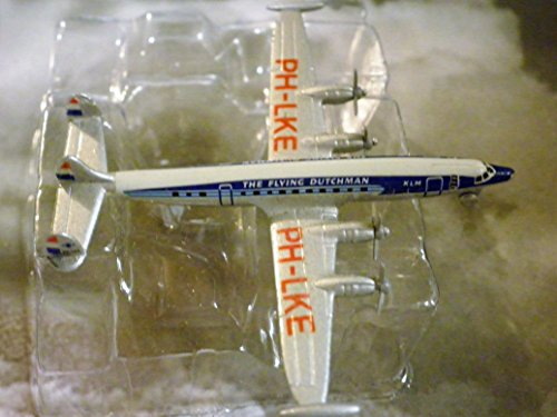 KLM Royal Dutch Airlines Lockheed Super Constellation Plane 1:600 Scale Die-cast Plane Made in Germany by Schabak