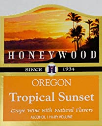 NV Honeywood Winery Tropical Sunset Fruit Wine 750 mL