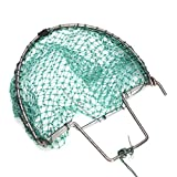 Specification Name: 20cm Heavy Duty Sparrow Pigeon Starling Humane Live Hunting Bird Trap Net Material: Polyethylene mesh + Steel frame Color: Green Size:(L)X(W)32X20cm /12.60''X7.87''(appr.) Features a Easy to use and portable. b Suitable f...