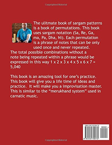 Buy The Ultimate Book of Sargam Patterns: Indian Music