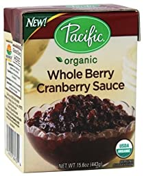 Pacific Natural Foods - Organic Whole Berry Cranberry Sauce - 15.6 oz.