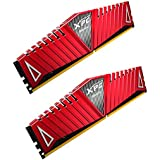 XPG Z1 DDR4 3200MHz (PC4 25600) 16GB (2x8GB) 288-Pin CL16-20-20 Memory Modules, Red (AX4U320038G16A-DRZ1)