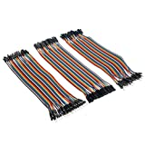 120pcs Multi-color 40pin Male to Female, 40pin Male to Male, 40pin Female to Female Breadboard Jumper Wires Ribbon Cables Kit for raspberry Pi 2