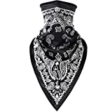 TIFENNY Fashion Scarf Shawl Couple Seamless Outdoor Riding 3D Printing Quick-Drying Windproof Mask
