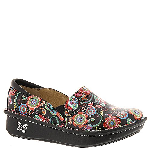 Alegria Womens Debra Nursing Shoe Paisley Party Size 36 by Alegria
