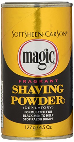 SoftSheen-Carson Fragrant Shaving Powder, 4.5-Ounce Cans (Pack of 12)