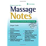 Massage Notes: A Pocket Guide to Assessment and Treatment