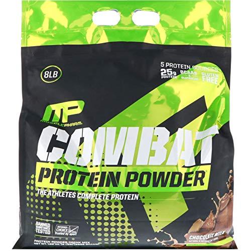MusclePharm Combat Protein Powder Chocolate Milk 8 lbs 3629 g