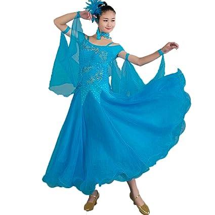 Rongg Vestido de Baile de Salón para Las Mujeres Falda de ...