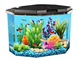 KollerCraft 6.5 Gallon Aquarium Kit with Internal Filter and LED Lighting