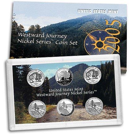 2005 Westward Journey Nickel Series Coin Set ()