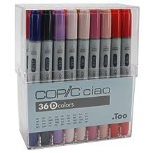 Copic Ciao Markers 36 Piece Set-Set D
