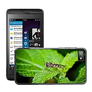 GoGoMobile Slim Protector Hard Shell Cover Case // M00124798 Etc Insects Bug And So On And Wipes // BlackBerry Z10