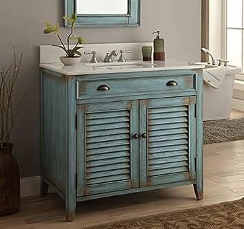 Amazon.com: Chans Furniture - Bathroom Vanities / Bathroom Sink ...