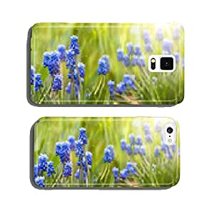 Spring and easter background with spring flowers cell phone cover case Samsung S6