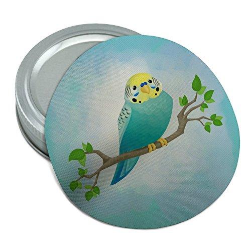 Pretty Parakeet Budgie Round Rubber Non-Slip Jar Gripper Lid Opener
