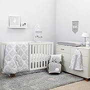 NoJo Dreamer - Grey/White Geo Diamond 8 Piece Comforter Set