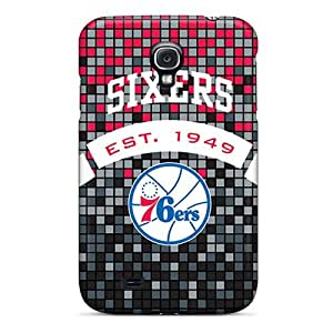 Cynthaskey Fashion Protective Philadelphia 76ers Case Cover For Galaxy S4 by lolosakes