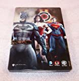 Injustice : Gods Among Us Collector's Edition STEELBOOK [G1 - DVD] Case NO GAME
