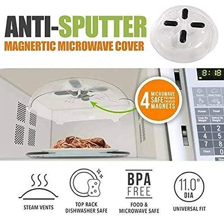 Placa de Microondas Hover Funda Anti-sputtering Magnético Funda No ...