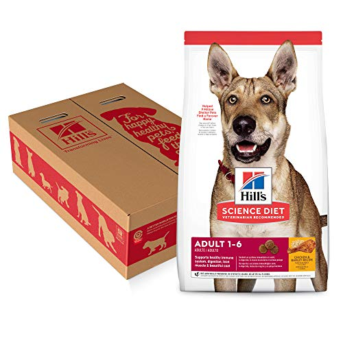 Hill's Science Diet Dry Dog Food, Adult, Chicken & Barley Recipe, 35 lb Bag