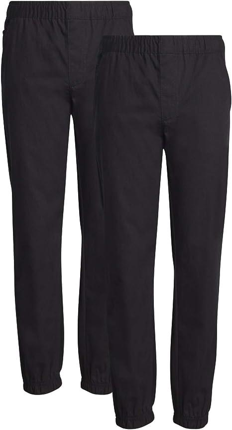 Nell Grey Size M Boys School Shorts Navy Elastic Waist Drawstring Long