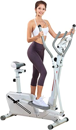 Fitness Magnetic Elliptical Trainer
