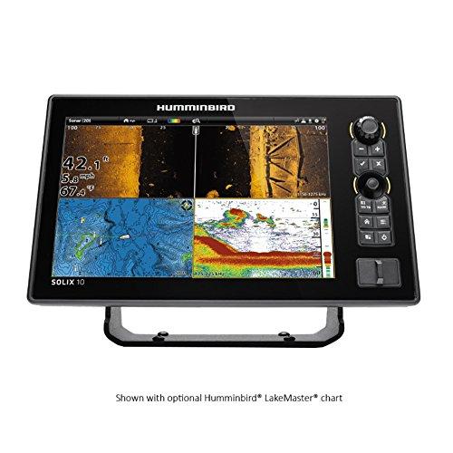 Humminbird 410490-1 Solix 10 Chirp MEGA SI GPS Combo