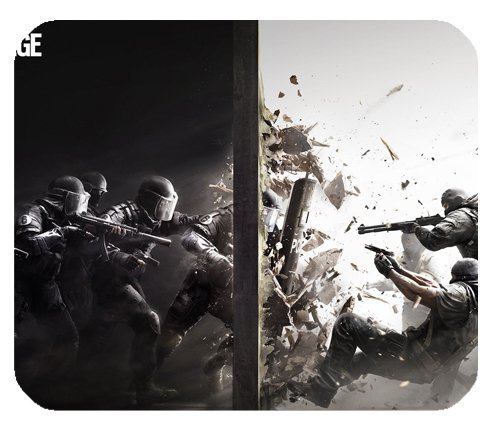 """Price comparison product image Tom Clancy S Rainbow Six Siege Mousepad Personalized Custom Mouse Pad Oblong Shaped In 9.84""""X7.87"""" Gaming Mouse Pad/Mat"""