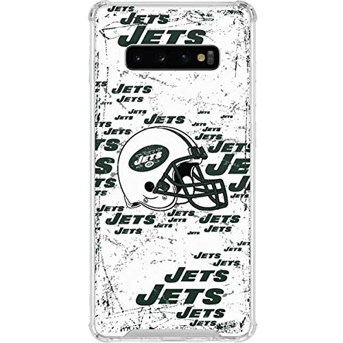 9978a0ee Amazon.com: Skinit New York Jets - Blast Alternate Galaxy S10+ Clear ...