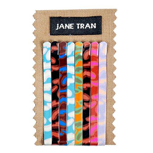 Jane Tran Babylon Print Bobby Pin Set